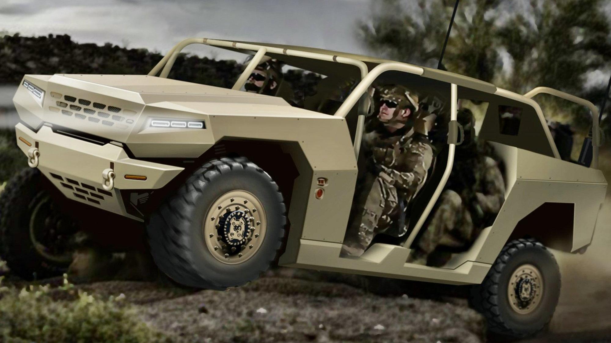 Kia's new military vehicle