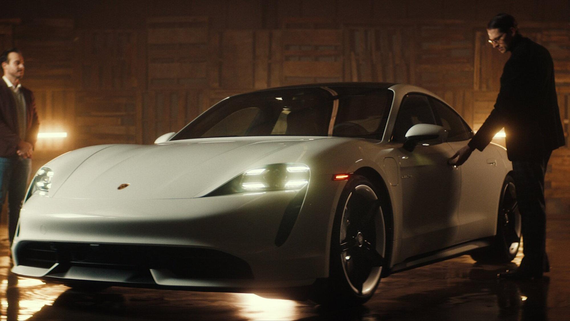 """Mr. E """"alternative"""" ad for the Porsche Taycan  -  Valkyr Productions"""