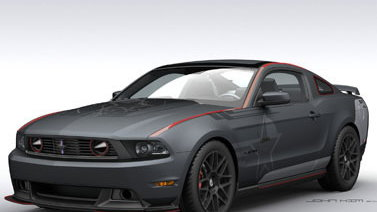 SR-71 Ford Mustang