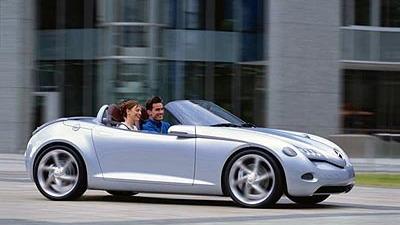 2000 Mercedes Vision SLA