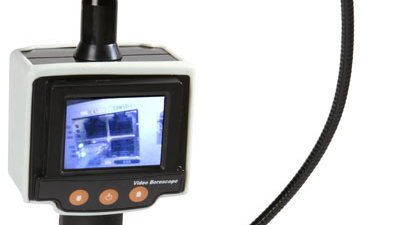 Handheld video inspection camera
