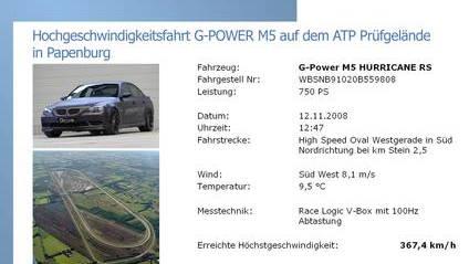 g power hurricane bmw m5 rs 007