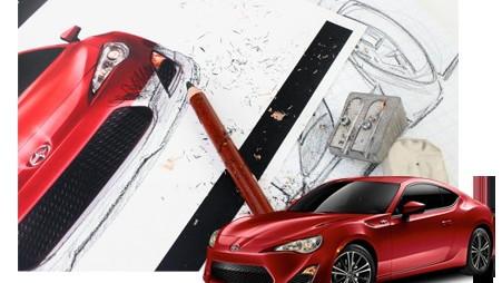 Stillen Scion FR-S body kit design contest