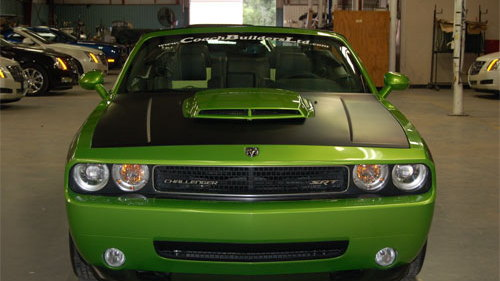 dodge challenger convertible sema 007