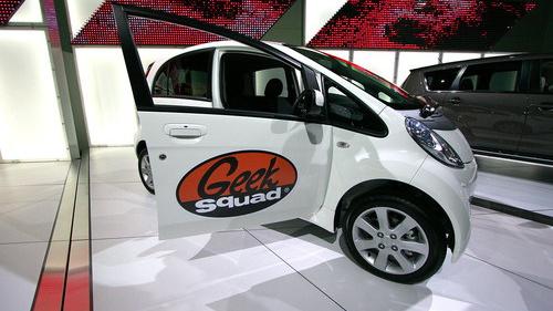 Geek Squad Mitsubishi iMiEV