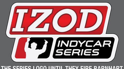 The IndyCar logo recast with Will Power's frustration