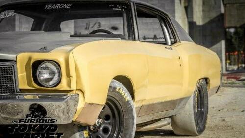 1971 Chevrolet Monte Carlo SS Tokyo Drift