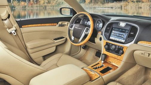 2011 Chrysler 300 interior leaked