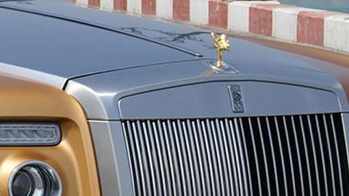 Golden Rolls Royce Phantom Drophead Coupe lands in Abu Dhabi