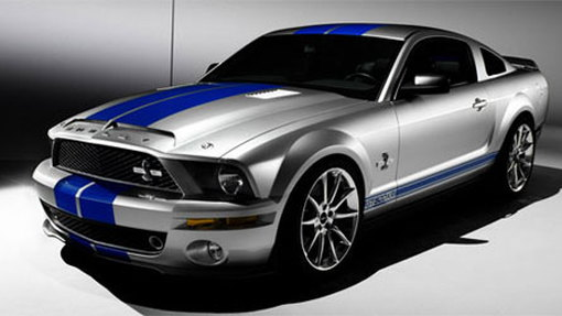 2008 Shelby GT500KR gets Ford's first-ever carbon fiber hood