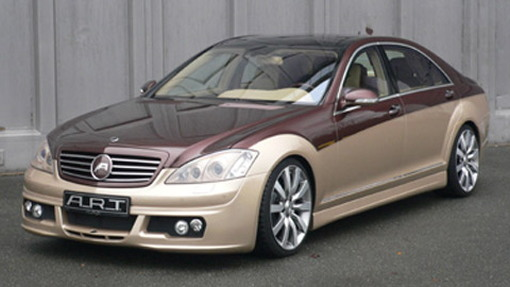 A.R.T. Tuning two-tone Mercedes S-Class