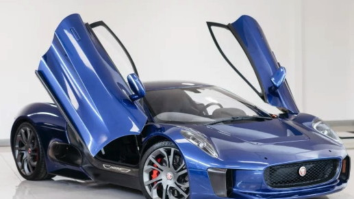 2016 Jaguar C-X75 from Spectre is for sale