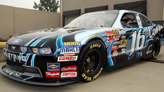 2010 Ford Mustang Nascar Nationwide Series Car Revealed