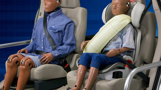 inflating rear seatbelts
