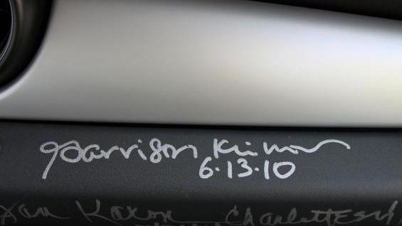 Garrison Keillor-autographed 2010 MINI Cooper S via AutoTrader