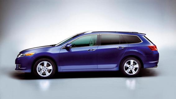 Euro-spec Honda Accord Touring (Acura TSX)
