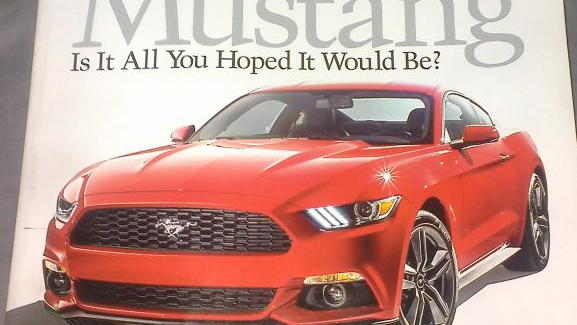 2015 Ford Mustang images leaked via early Autoweek delivery