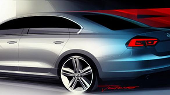 Volkswagen NMS (Passat replacement) sketches