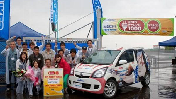 Daihatsu Mira EV - Photo by the Japan EV Club