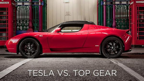 Tesla versus Top Gear