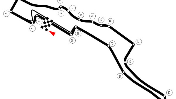 Proposed New Jersey F1 street circuit