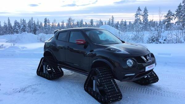 Nissan Juke RSnow