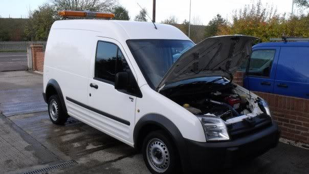 Ford Transit Connect RS conversion