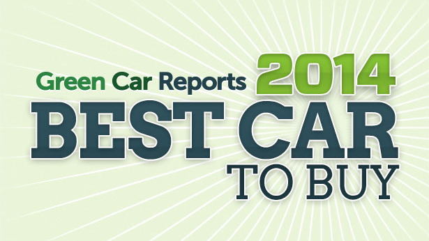 Green Car Reports' Best Car To Buy 2014 award