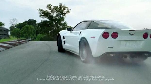 Corvette's new 'Rocket' ad