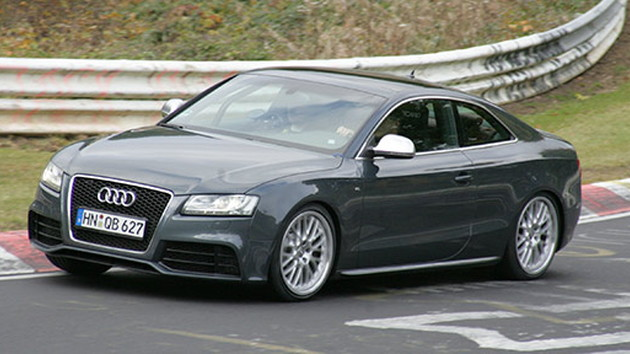 2010 Audi RS5 spy shots