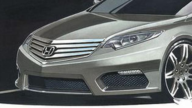 2012 Honda Accord Euro preview sketch