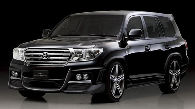 2009 Toyota Land Cruiser Wald International Black Bison