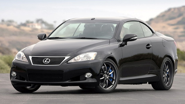 2010 Lexus IS C F-Sport Accessories