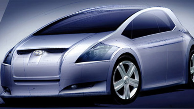 Toyota Auris sketch