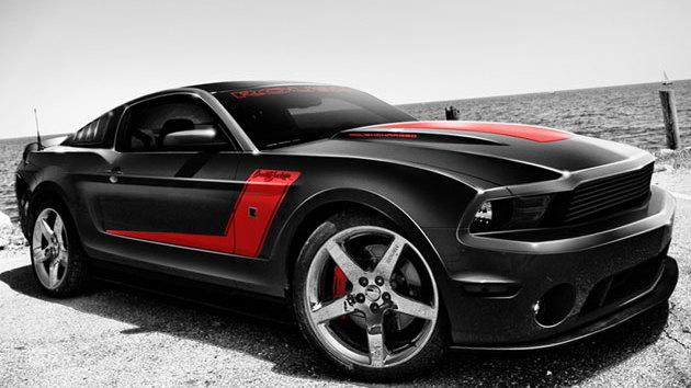 Barrett Jackson ROUSH Mustang
