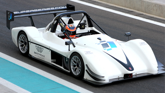The Radical SR3 RS, used in the i1 Supercar Series.