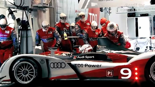 Audi R15 TDI at the 2010 24 Hours of Le Mans