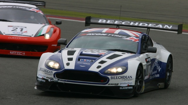 Entrants in the inaugural Aston Martin Racing Festival of Le Mans