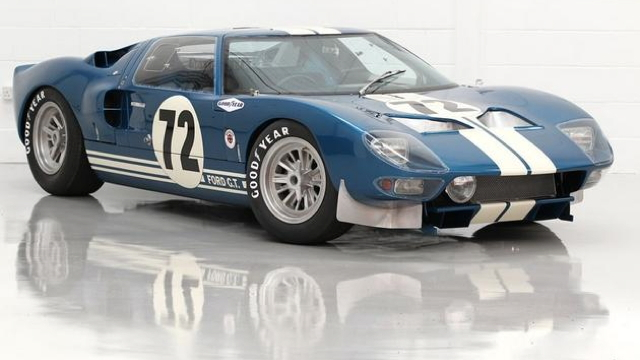 1964 Ford GT40 Prototype - image credit Mathieu Huertault, Gooding & Company