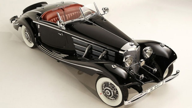 1936 Mercedes-Benz 540K Special Roadster - image courtesy of Gooding & Company