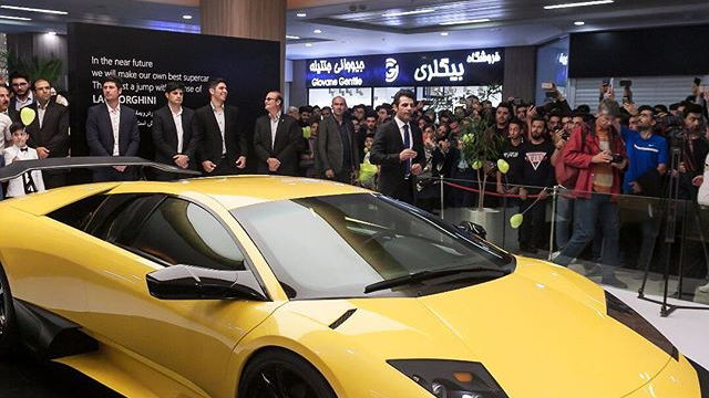 Iranian Lamborghini Murcielago