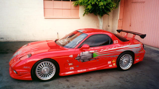 """Mazda RX-7 from """"The Fast and The Furious"""""""
