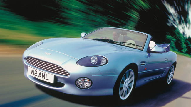 2003 Aston Martin DB7 Volante
