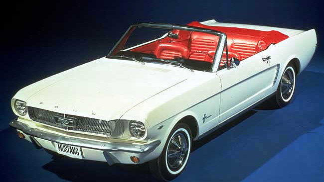 1964.5 Ford Mustang Convertible
