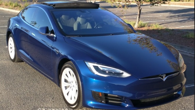 2016 Tesla Model S   [photo by owner Shiva]