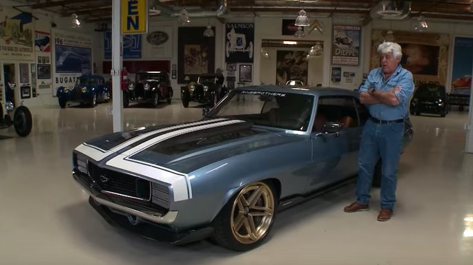 G-Code Camaro stops by Jay Leno's Garage