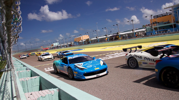 Intel partners with Ferrari for AI and drone support at Ferrari Challenge series