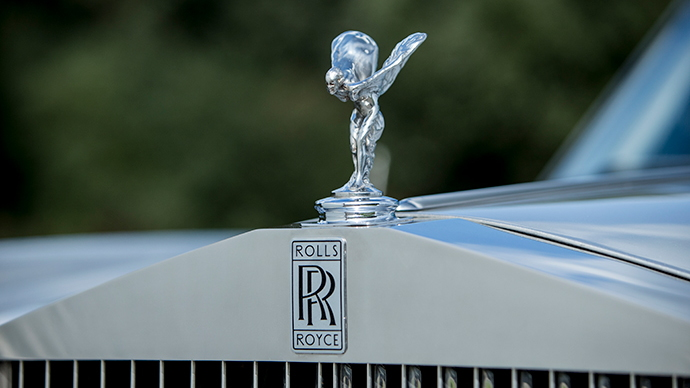 Muhammad Ali's 1970 Rolls-Royce Silver Shadow Convertible