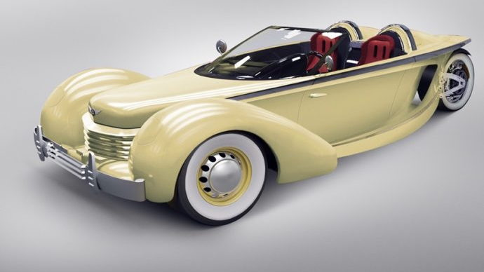 Artist's rendering of the design of the Cord Model III