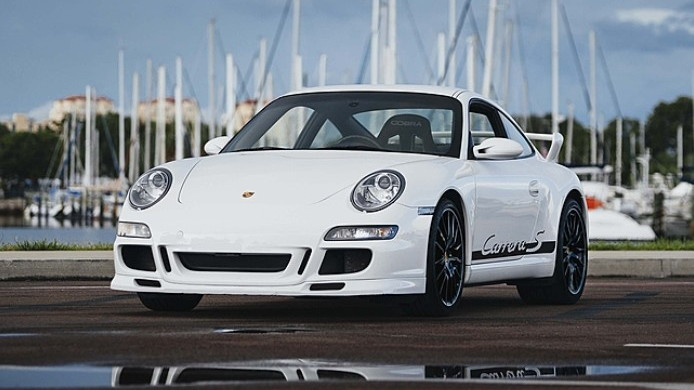 2008 Porsche 911 Carrera S 'Centro' center-drive conversion - Image via Mecum Auctions